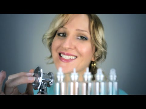 Cranial Nerve Exam ASMR with DNA Testing and Hypnosis   Roleplay