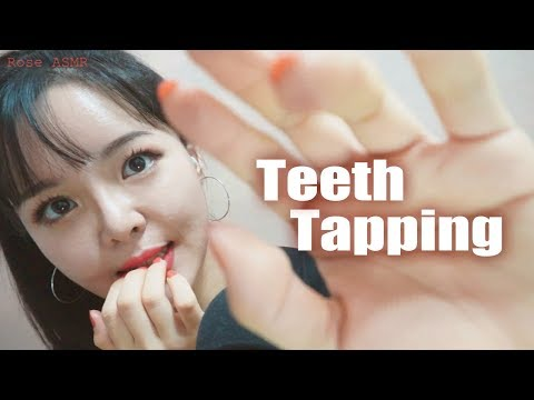 [Eng ASMR] Addictive Teeth Tapping + Mouth Sounds