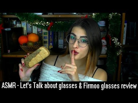 👓ASMR - Firmoo glasses review ~ Let's talk about glasses
