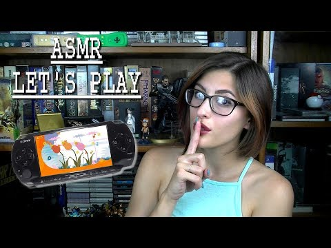 Let's play on my PSP ~ASMR~ Loco Roco 2 ~ Let's save our planet and bouncy friends