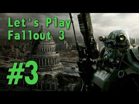 ASMR Let's Play Fallout 3 ( PS3 ) #3 - From Springvale to Megaton