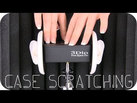 ASMR Scratching Top of 3Dio - No Talking
