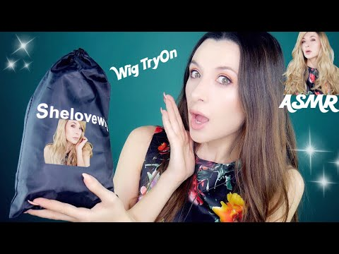 Wig Review and Try on *Shelovewig ASMR